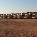 90 DUMPER TEREX TRUCKS IN GIORDANIA