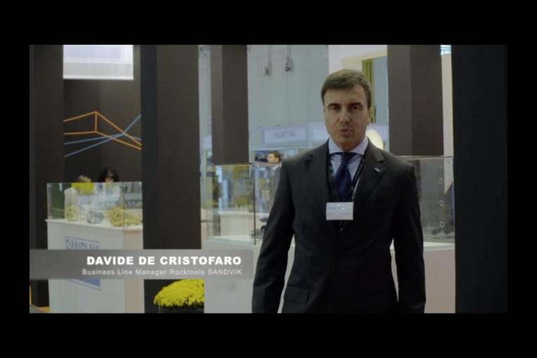 GEOFLUID 2016: VIDEOINTERVISTA SANDVIK - Perforare - Geofluid 2016 SANDVIK videointervista - Geofluid 2016