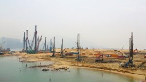 IL NUOVO PONTE HONG KONG-ZHUHAI-MACAO - Perforare -  - Fondazioni speciali News Pompe