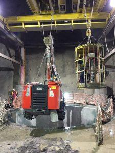 LE SANDVIK  JUMBO DD421-60C E  COMMANDO DC125R AL LAVORO AL PROGETTO SHUAKHEVI HEPP - Perforare -  - News Tunnelling 1