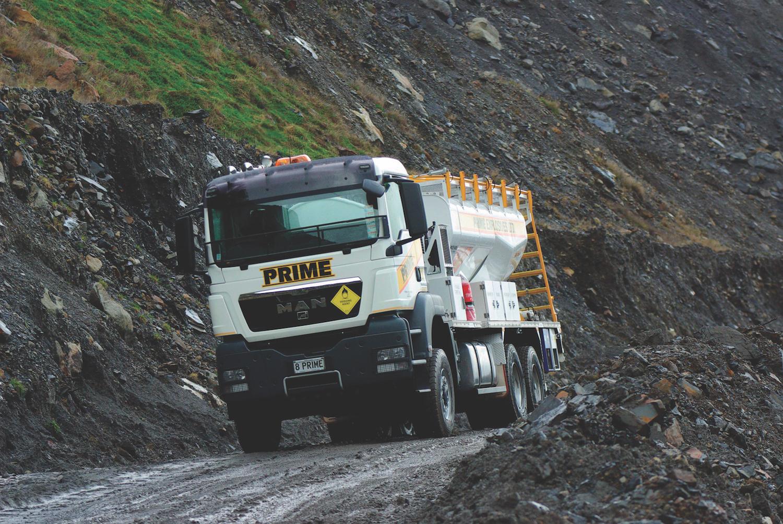 MAN TGS WORLDWIDE - Perforare - lavori di estrazione MAN TGS - Industria estrattiva-mineraria News