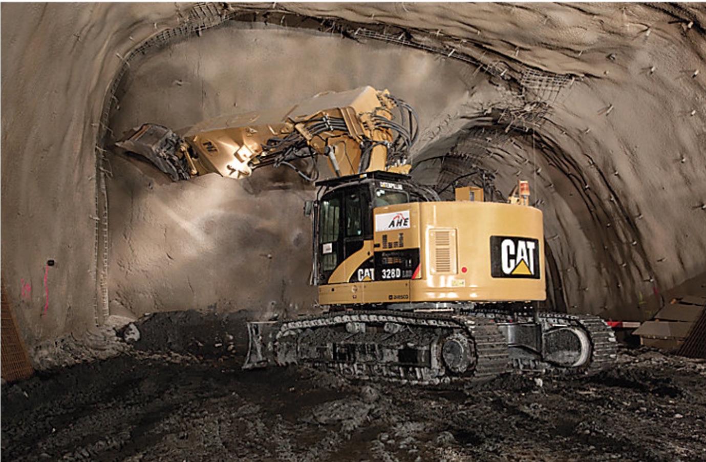ZEPPELIN TRA MINIERE E GALLERIE - Perforare - GALLERIE miniere ZEPPELIN - Industria estrattiva-mineraria News