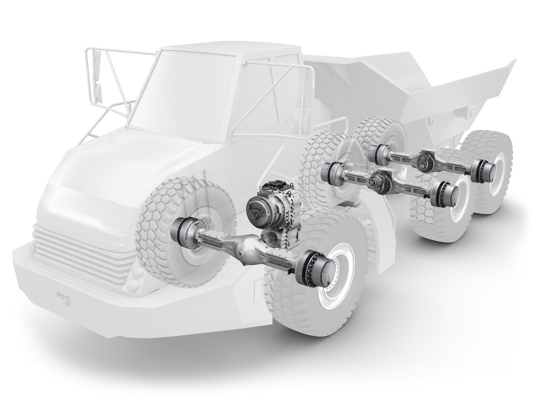 ZF PER I DUMPER - Perforare - componenti DUMPER risparmio ZF - Componenti Industria estrattiva-mineraria News 1