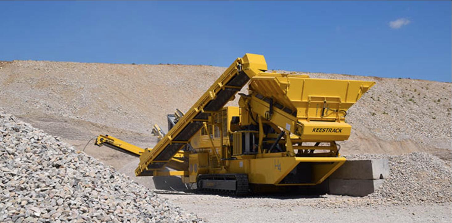 ARRIVA L'H4 DI KEESTRACK - Perforare - frantoio H4 Keestrack N.V. - Industria estrattiva-mineraria News