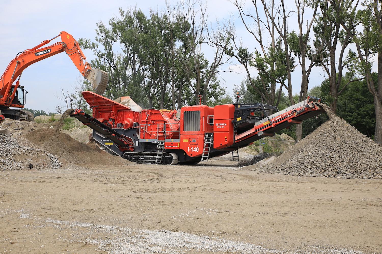 TEREX FINLAY I-140: QUESTIONI DI FLUSSO - Perforare -  - Industria estrattiva-mineraria News 1