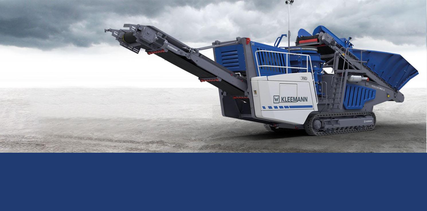 - Perforare - Kleeman MCO 11 PRO Mobicone Wirtgen - Industria estrattiva-mineraria News