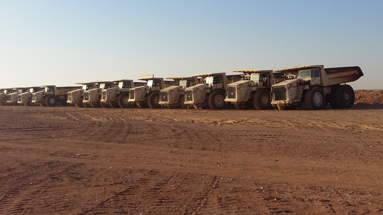 90 DUMPER TEREX TRUCKS IN GIORDANIA - Perforare - Cometa DUMPER Giordania Terex Trucks - Industria estrattiva-mineraria News