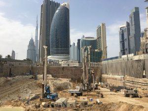 TREVI ALL'OPERA PER LE FONDAZIONI DELLA NUOVA ICD TOWER DI DUBAI - Perforare - - Case History Fondazioni speciali News