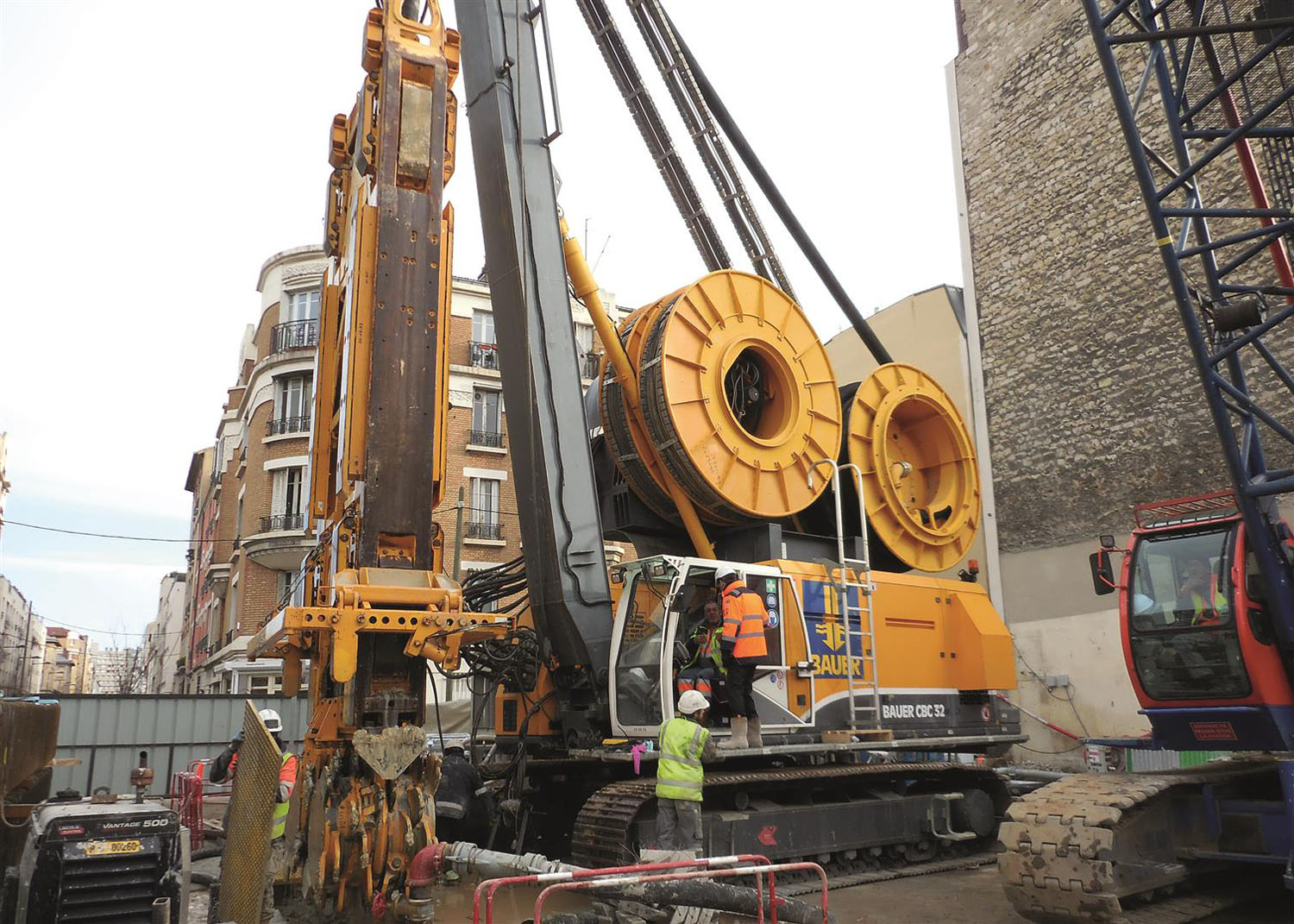 BAUER PER IL GRAND PARIS EXPRESS PROJECT - Perforare -  - News Tunnelling 1