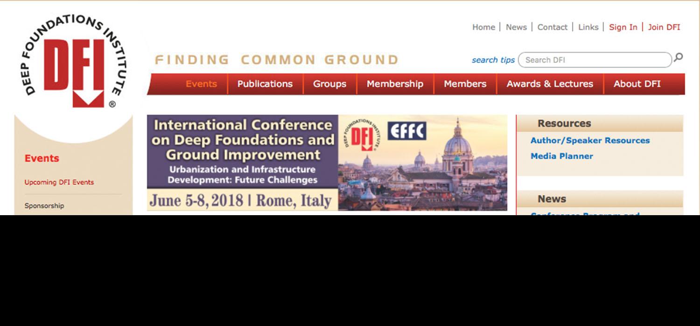 LIEBHERR ALLA DFI-EFFC DI ROMA - Perforare - DFI-EFFC LIEBHERR Università Sapienza - Eventi News