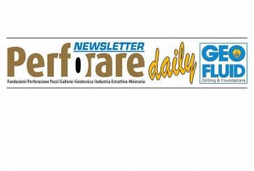 PERFORARE AL GEOFLUID: NEWSLETTER