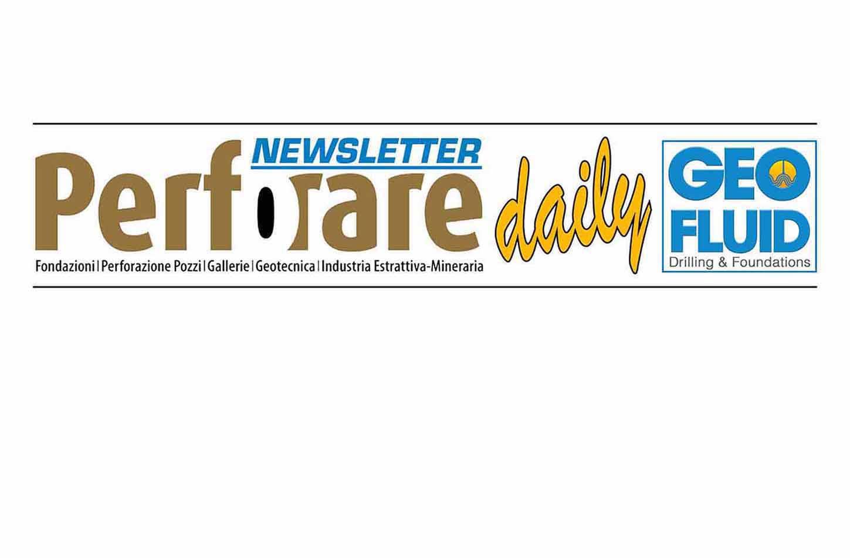 PERFORARE AL GEOFLUID: NEWSLETTER - Perforare -  - News
