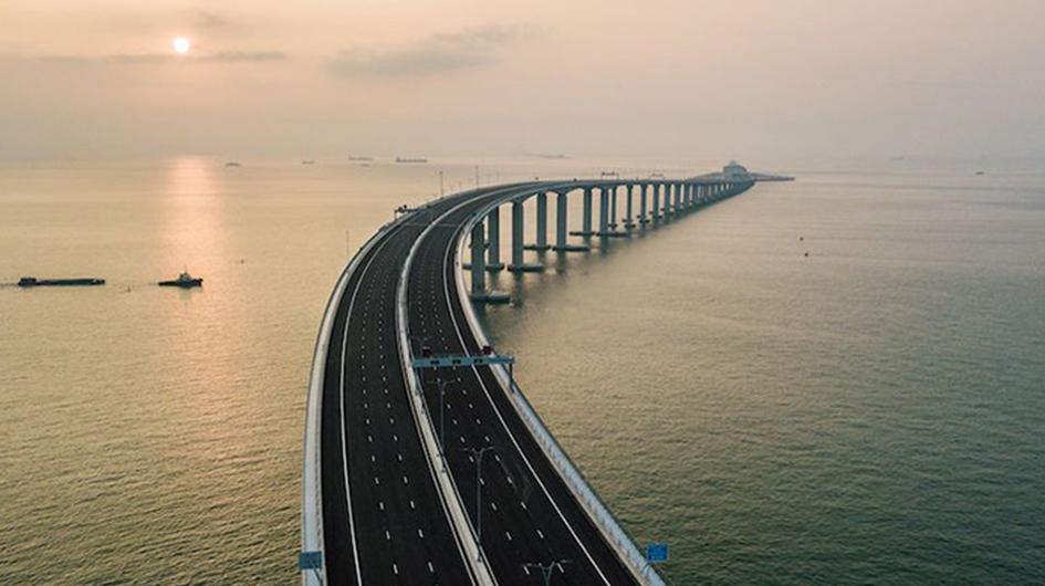 IL NUOVO PONTE HONG KONG-ZHUHAI-MACAO - Perforare -  - Fondazioni speciali News Pompe 1