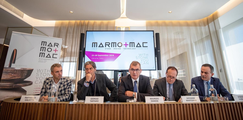 MARMOMAC 2019 ALLE PORTE. INVESTIMENTI PER 105 MILIONI DI EURO - Perforare - Marmomac - Fiere Industria estrattiva Settore lapideo