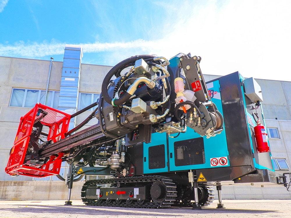 DEBUTTO IN UK PER LA NUOVA CASAGRANDE C3 XP-2 - Perforare -  - Geotecnica&Geognostica Macchine per micropali Perforazioni