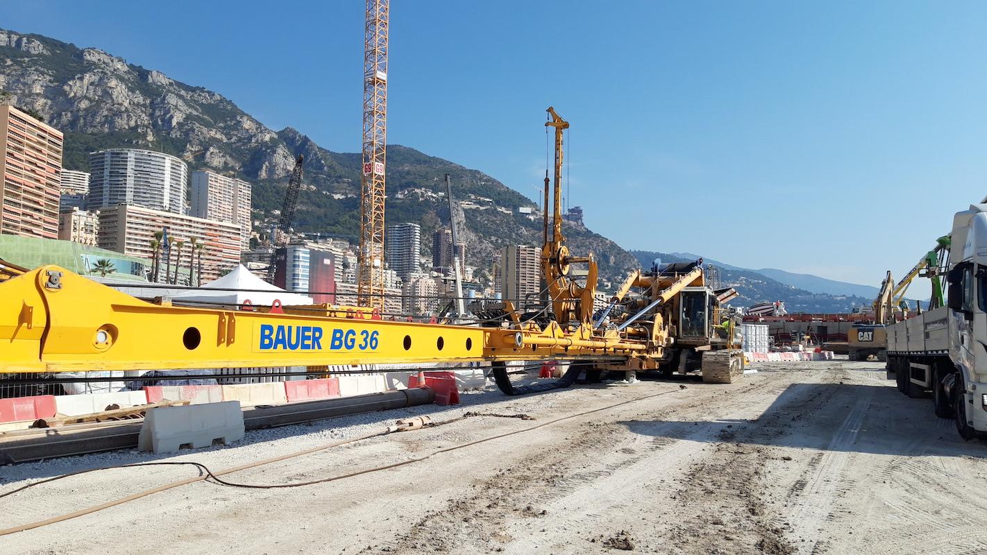 Mareterra, la sfida di Bauer Italia nel Principato di Monaco - Perforare -  - Fondazioni speciali Macchine per pali News